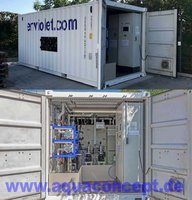 Rental container for Advanced Oxidation applications  Mobile containerized AOP unit for batch and continous operation
